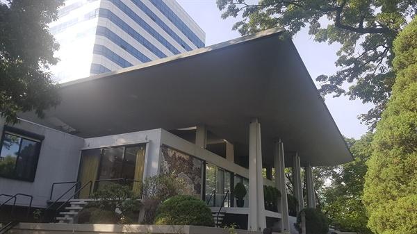 '오픈하우스 서울 2019' 행사의 일환으로 시민에게 공개되는 주한 프랑스대사의 관저
