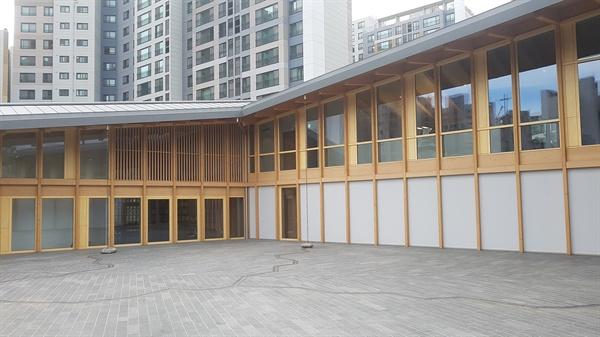 '오픈하우스 서울 2019' 행사의 일환으로 시민에게 공개되는 주한 스위스대사관의 전경