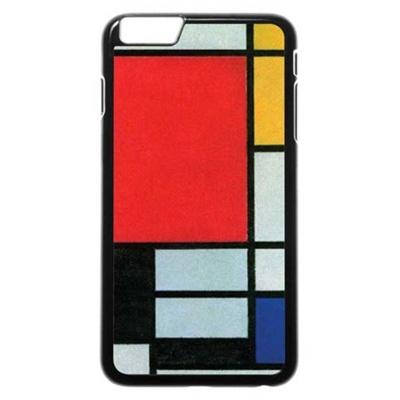 몬드리안 그림을 차용한 핸드폰 케이스