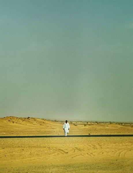 수단 와디할파에서 하르툼으로 가는 길.