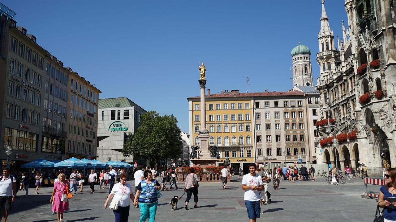 뮌헨 마리안 광장 뮌헨 마리안 광장(platz)