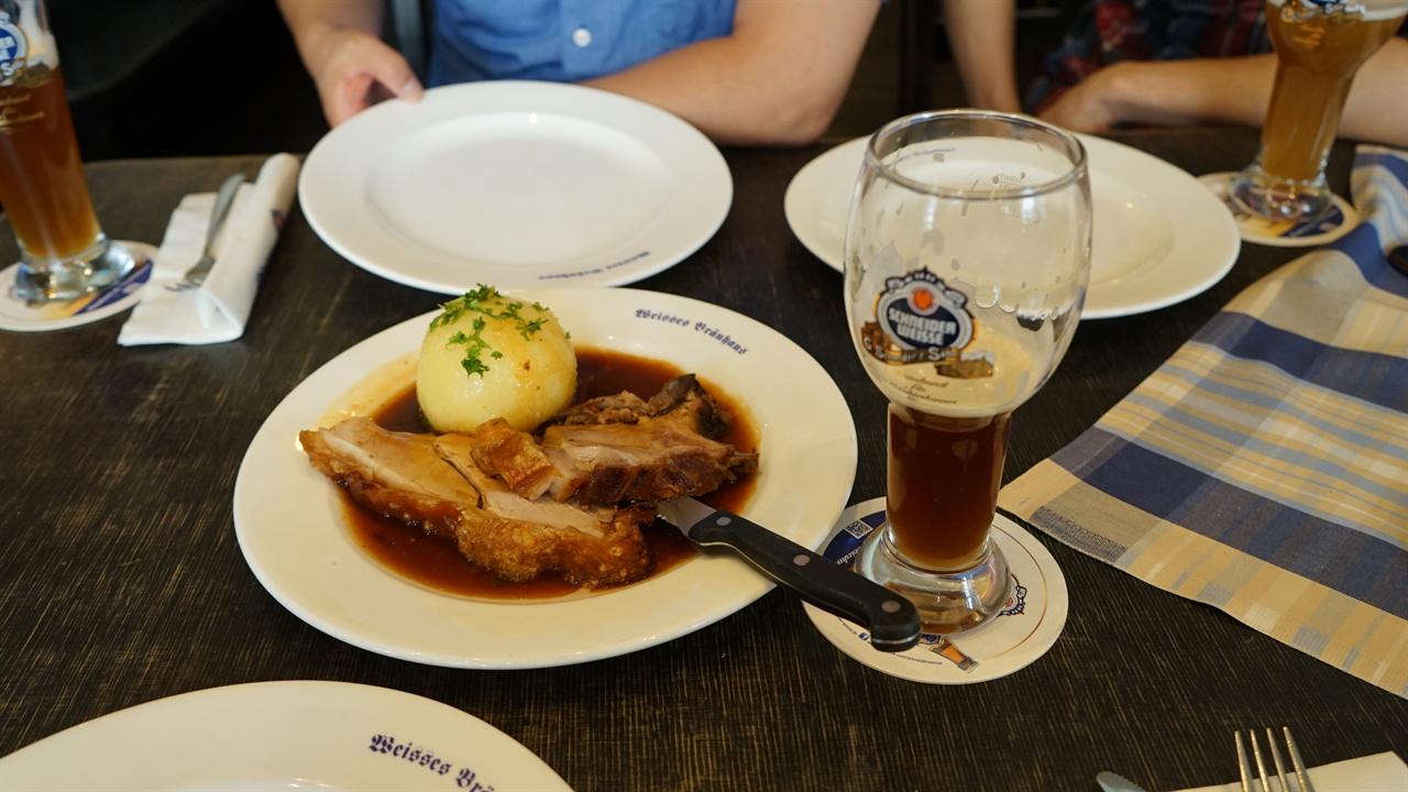슈나이더바이세 맥주 슈나이더바이세 맥주와 음식