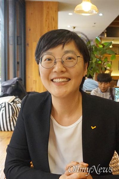 오현주 정의당 대변인.