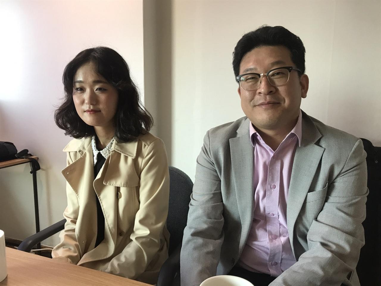 <MBC스페셜> '청춘 생존' 2부작 제작한 박정남(우), 이우리(촤) PD