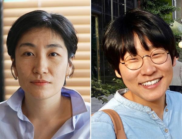 영화제작사 아토(ATO)의 김지혜(좌)-제정주 대표(우)