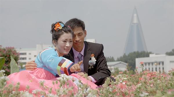 영화 <평양 유랑> 스틸 사진.