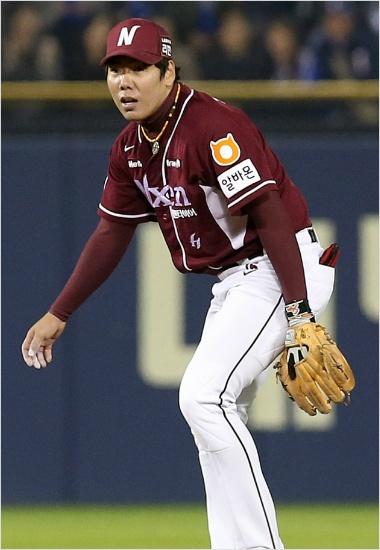 2014년 당시 괴물 같은 활약을 보이며 히어로즈를 한국시리즈로 이끌었던 강정호