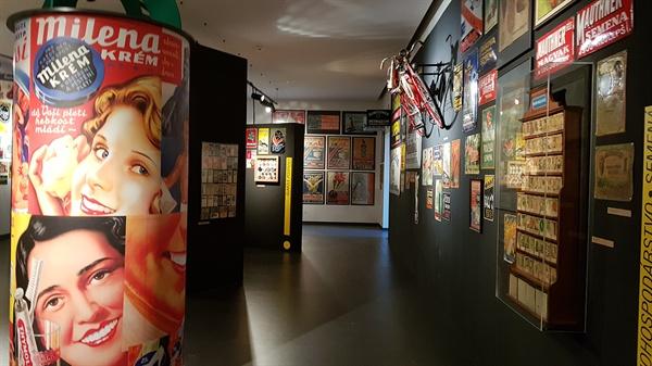 브라티슬라바성 박물관. 현대 역사 전시실에서는 슬로바키아 인들의 생활상을 만난다.