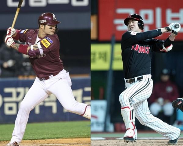 양팀을 모두 거친 키움 박병호와 LG 김민성의 활약여부도 주목거리다.(사진: 키움 히어로즈/LG 트윈스)