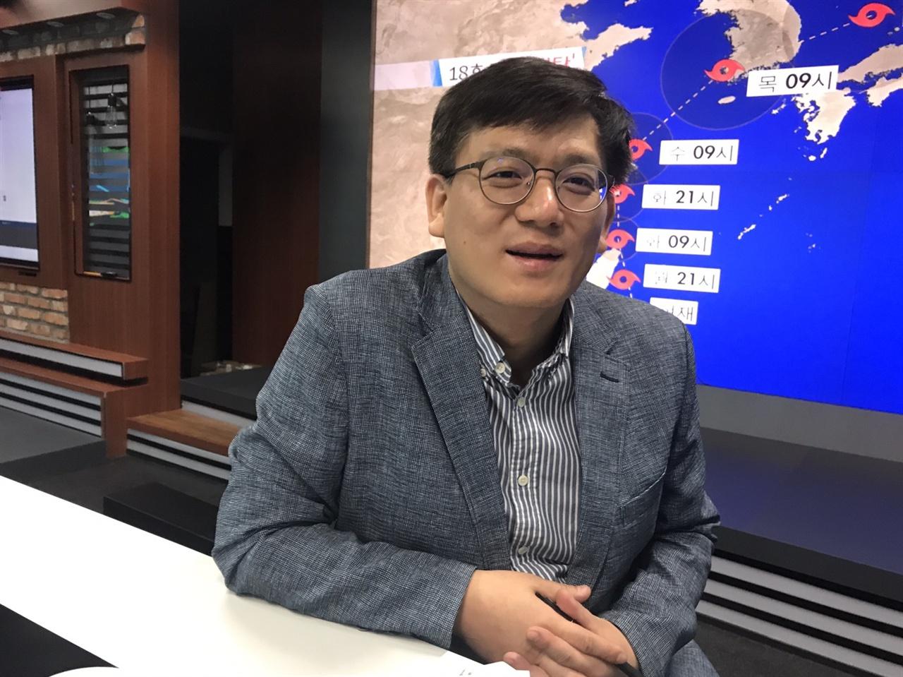 김성한 KBS 재난방송기획팀장