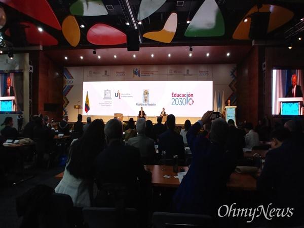 고양시가 지난 10월 1일에서 3일까지 3일 동안 콜롬비아 메네진에서 열린 제4차 국제학습도시 컨퍼런스에서 유네스코 학습도시네트워크(UNESCO GNLC)의 '교육계획, 모니터링과 평가' 분야 리더 도시로 선정됐다.