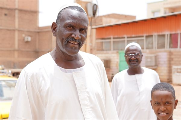 카르툼에서 만난 친절한 수단 사람들