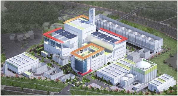SK하이닉스 LNG발전소 조감도.