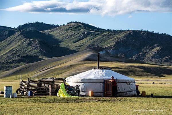 친환경적인 게르는 몽골 초원에 최적화된 주거형태이다