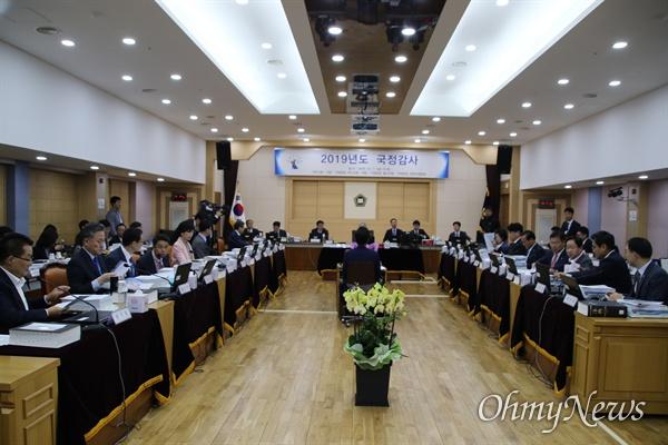 11일 오전 대구고법에서는 국회 법제사법위원회 영남권 법원에 대한 국감이 열렸다.
