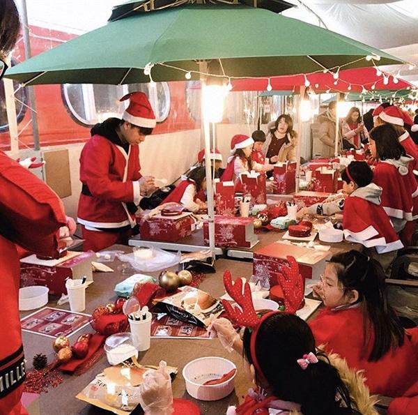 작년 12월 크리스마스를 앞두고 열린 석항크리스마스 축제 모습.