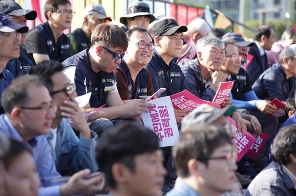 노원지역에서 일하는 노동자들도 함꼐 참석했다.