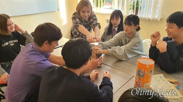 고려인 민족학교와 경기도 중학생 역사원정대와의 교류활동