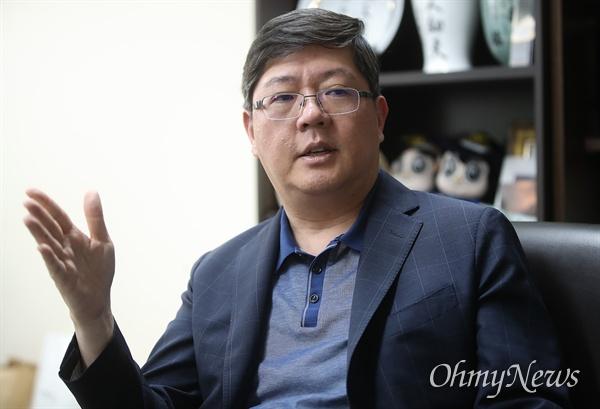 김홍걸 민족화해협력범국민협의회 대표상임의장.