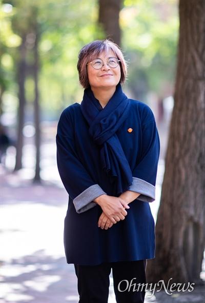 전국불안정노동철폐연대에는 김혜진 상임활동가