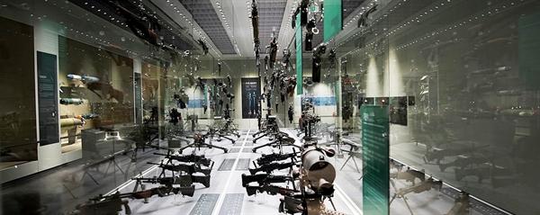 용산 전쟁기념관 국군무기발전실의 모습