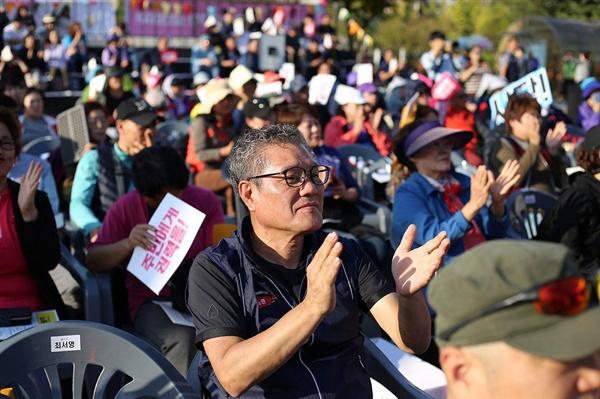 대회에 참석한 김종석 지역장