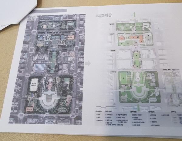 """""""안양 평촌복합문화형 공원""""  안양시는 '평촌복합문화형 공원' 조성을 통해 시민의 삶의 질을 높이는데 기여할 것으로 기대하고 있다. 사진은 '평촌복합문화형 공원 조성 계획안'."""