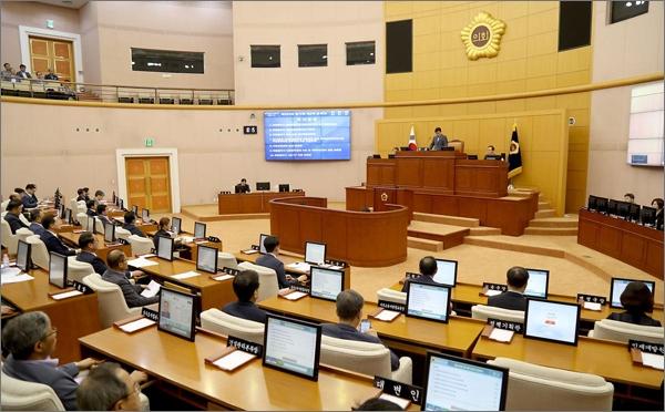 대전시의회 회의 장면(자료사진).