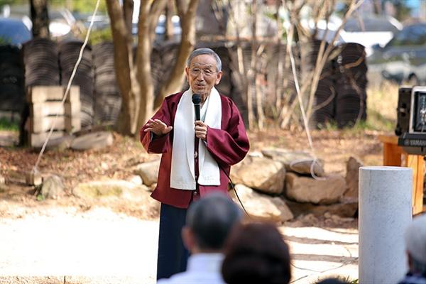 1960년대 중반 20대 청년장교로 강원도 최전방 DMZ에 근무하면서 한국인이 가장 사랑하는 가곡 중 하나인 <비목>을 탄생시킨 한명희씨는 80이 된 지금도 열심히 사회활동 중이다.