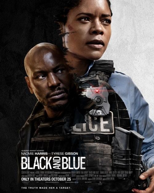 영화 < 블랙 앤드 블루 > 포스터