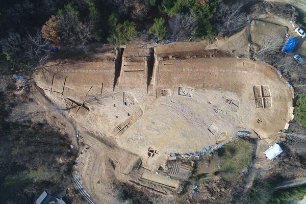 국가사적으로 지정된 '함안 가야리 유적'.