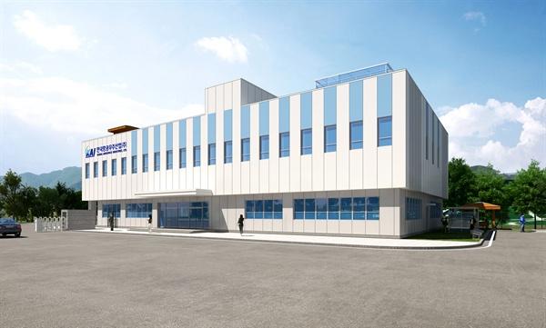 경남 고성 이당일반산업단지에 들어설 카이 부품공장 투시도.