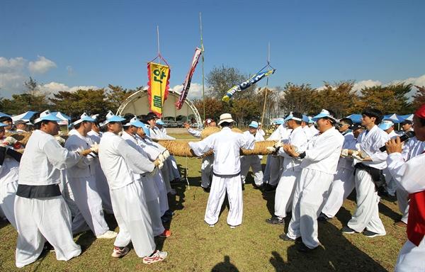 '제2회 태인문화제' 용지큰줄다리기