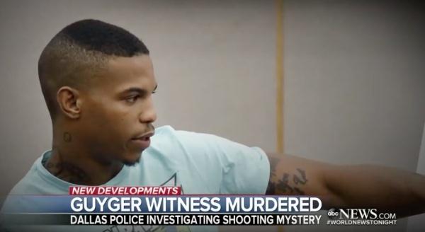 엠버 가이거의 판결 다음날 의문의 살해를 당한 증인 죠슈아 브라운 (유튜브 갈무리)