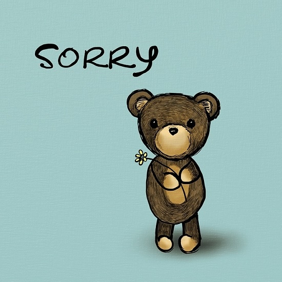 사과는 잘못을 인정하는 게 우선인데, 그게 쉽지 않다. 자기를 내려놓는 과정이기 때문이다.