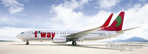 티웨이항공. 오는 28일부터 대구공항 항공화물 운송사업자가 대한항공에서 티웨이항공으로 변경된다.