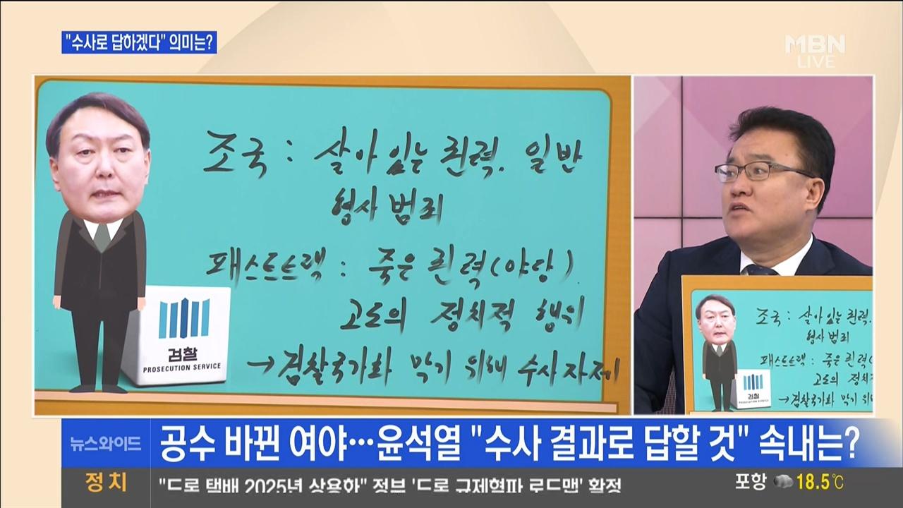 검찰이 조국 수사만 하고 패스트트랙 수사는 하면 안된다는 서정욱 씨 MBN <뉴스와이드>(10/17)