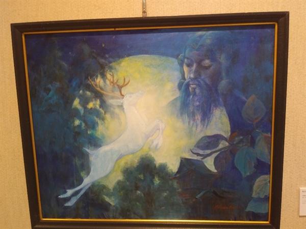 미쓰하시 치카코씨의 작품 작품명 '여행은 신을 섬기는 일'
