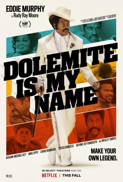 영화 <내 이름은 돌러마이트> 포스터.