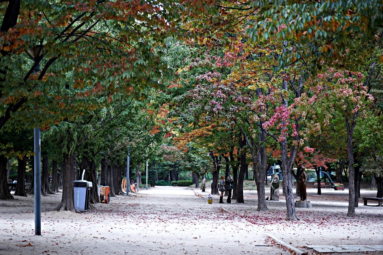 서울숲 가을 풍경