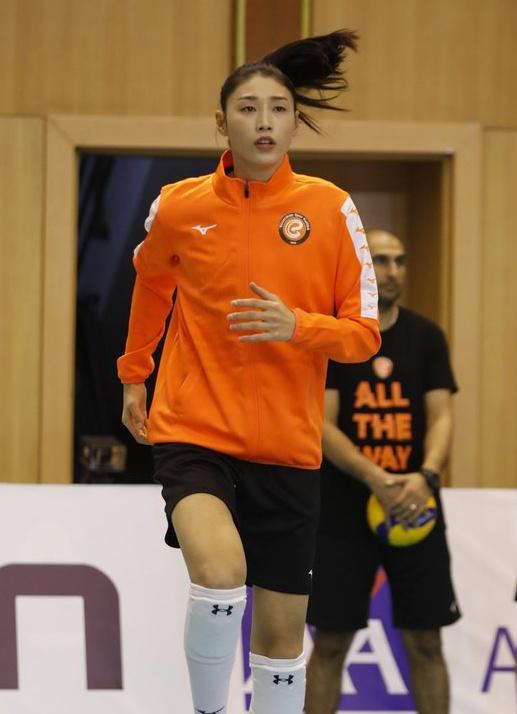 김연경 선수(에자즈바쉬)