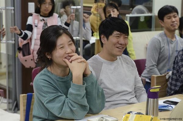참석자들은 독립운동가들의 희생의 걸음 앞에 숙연해지기도 했지만, 언제나 그렇듯 함께하는 배움은 즐겁다. 김종훈 기자의 열정도 한몫 했다.