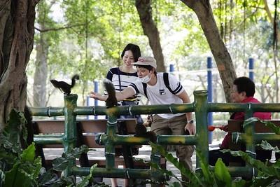 타이베이에서 흔히 볼 수 있는 공원은 지진대피용 공간이자 모두가 함께 이용하는 열린 공간이다