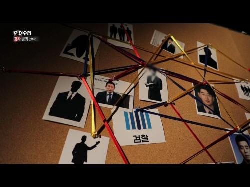 <PD수첩> '검사범죄 2부작-2부-검사와 금융재벌' 편 프로그램의 한 장면