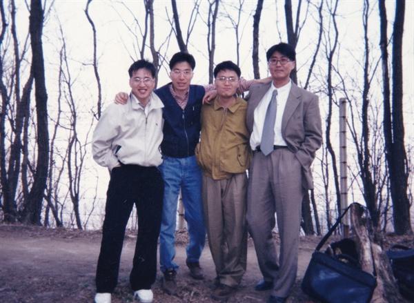 박주영 판사의 1999년 사법연수원 시절 모습.