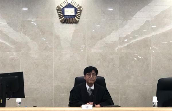 지난 9월 20일 박주영 울산지방법원 제11형사부 부장판사 모습.