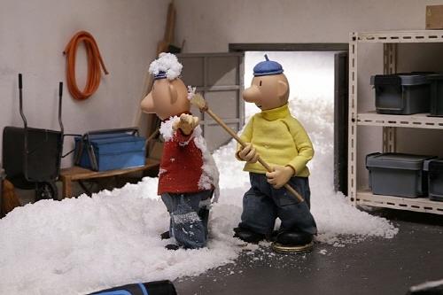 <패트와 매트: 우당탕탕 크리스마스> 영화의 한 장면