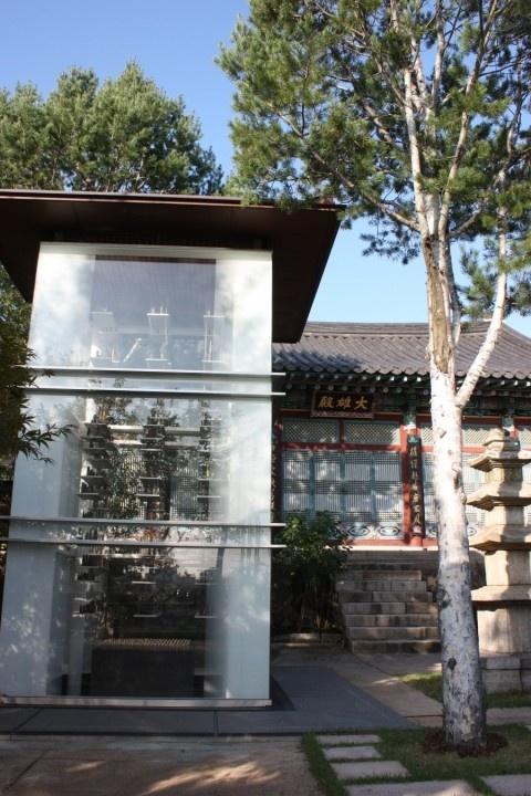 성북구 장수마을  정각사 경내