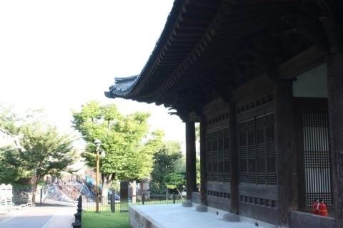 성북구 장수마을  삼군부총무당