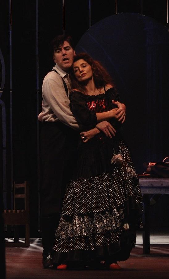 오페라 <카르멘>의 한 장면